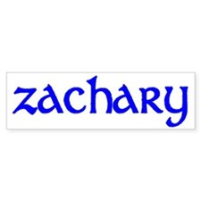 Zachary Bumper Bumper Sticker