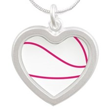 Pink Basket Ball Necklaces
