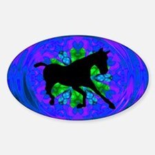 Kaleidoscope Colt Oval Decal