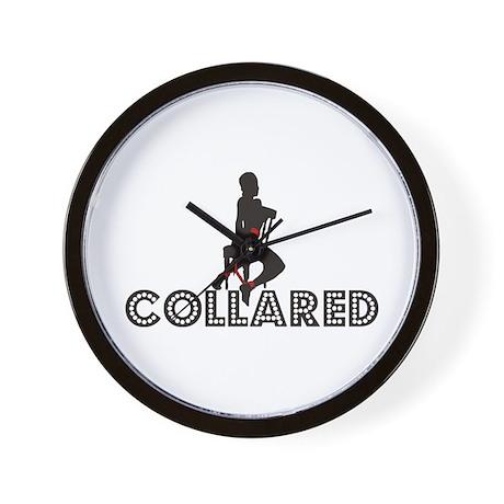 Collared Bondage Wall Clock