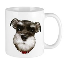 mini_schnauzer_face001 Mugs