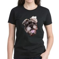 mini_schnauzer_face002 T-Shirt