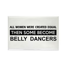 belly created equal designs Rectangle Magnet