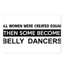 belly created equal designs Postcards (Package of