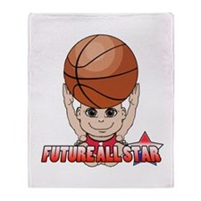 Future All Star Throw Blanket