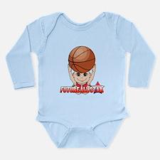 Future All Star Long Sleeve Infant Bodysuit