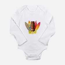 Tiki and Surfboards Body Suit