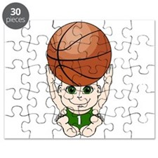 Cute basketball youth Puzzle