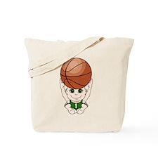Cute basketball youth Tote Bag
