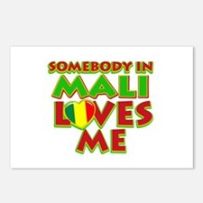 Somebody in Mali Loves me Postcards (Package of 8)