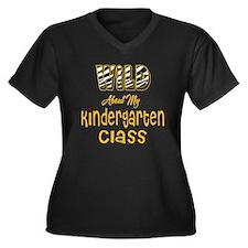 Wild About my Kindergarten Class Women's Plus Size