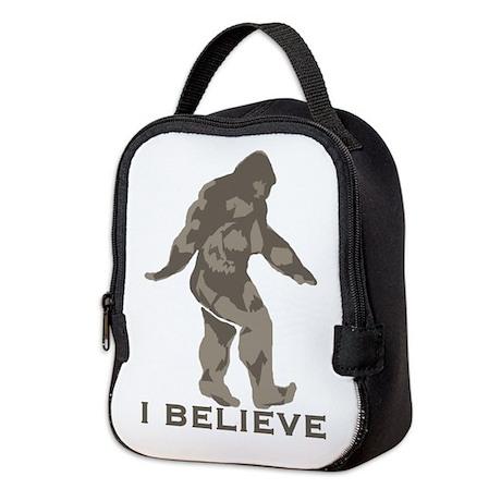 Believe in the Bigfoot Neoprene Lunch Bag