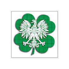 Irish Polish Heritage Sticker