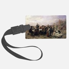 The First Thanksgiving at Plymouth Luggage Tag