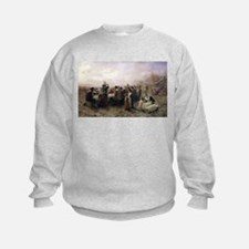 The First Thanksgiving at Plymouth Sweatshirt