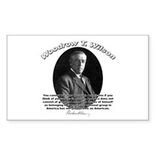 Woodrow Wilson 03 Rectangle Decal