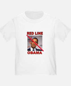 RED LINE OBAMA T-Shirt