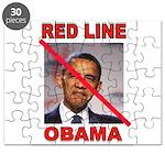 RED LINE OBAMA Puzzle