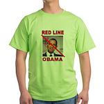 RED LINE OBAMA T-Shirt
