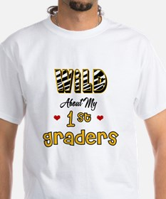 Wild About my 1st Graders Shirt