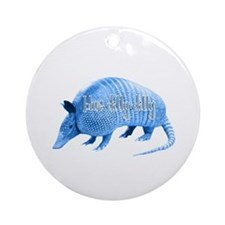 Blue Dilly Dilly Ornament (Round)