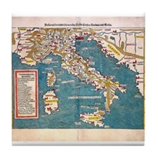 Ancient World Tile Coaster