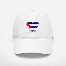 Cuban flag fan Baseball Baseball Cap