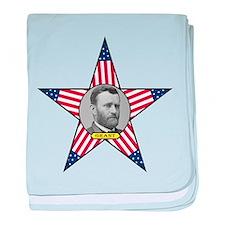 Ulysses Grant baby blanket