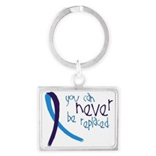 Suicide Awareness-Never Replaced Keychains