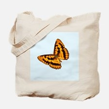 Chequered Skipper Butterfly Tote Bag