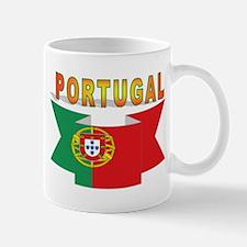 portugal flag ribbon Mug