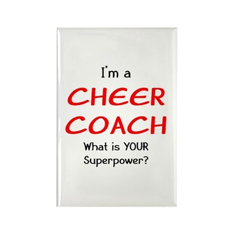 cheer coach Rectangle Magnet