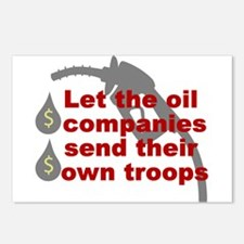 Oil Companies Troops Postcards (Package of 8)