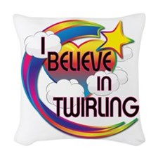 I Believe In Twirling Cute Believer Design Woven T