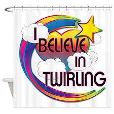 I Believe In Twirling Cute Believer Design Shower