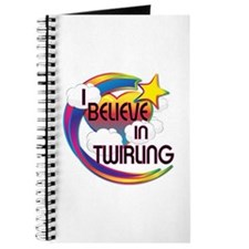 I Believe In Twirling Cute Believer Design Journal