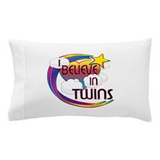 I Believe In Twins Cute Believer Design Pillow Cas