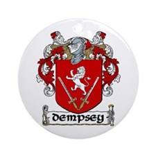 Dempsey Coat of Arms Ornament (Round)