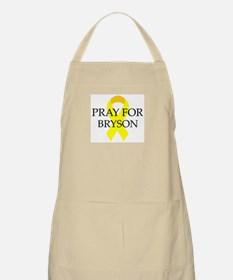 Pray for Bryson BBQ Apron