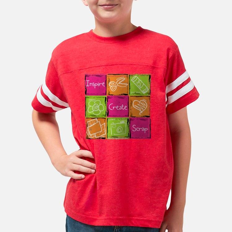 iscv2_10x10blk Youth Football Shirt