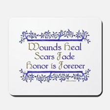 Honor is forever Mousepad