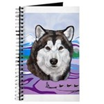 Malamute and sled team Journal