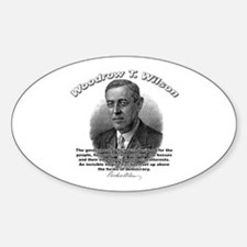 Woodrow Wilson 05 Oval Decal