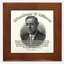 Woodrow Wilson 05 Framed Tile