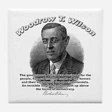 Woodrow Wilson 05 Tile Coaster