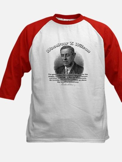 Woodrow Wilson 05 Kids Baseball Jersey