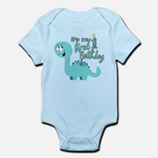 Dinosaur First Birthday Infant Bodysuit
