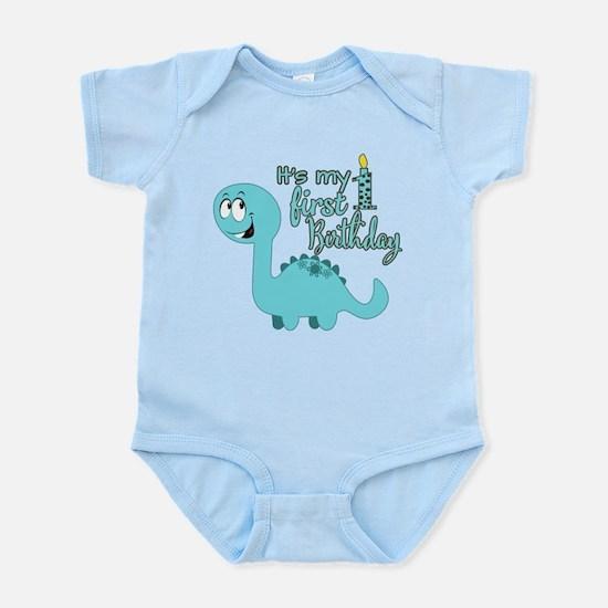 Dinosaur First Birthday Infant Bodysuit