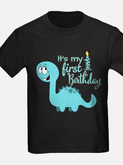 Dinosaur First Birthday T