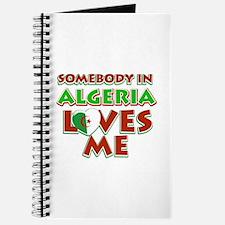 Somebody in Algeria Loves me Journal